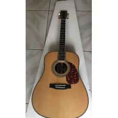 Custom Martin d-45 Acoustic-Electric Guitar Natural