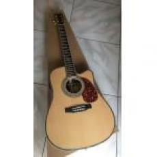 Custom Martin D 45 D-45 cutaway natural acoustic guitar