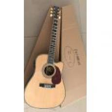 Custom Chinese Copy Martin D-45 Cutaway Acoustic Guitar