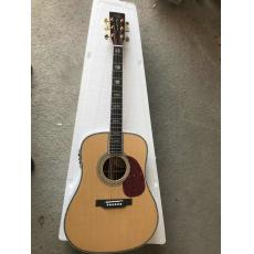 Custom chinese martin copy guitars martin d-45 guitar natural